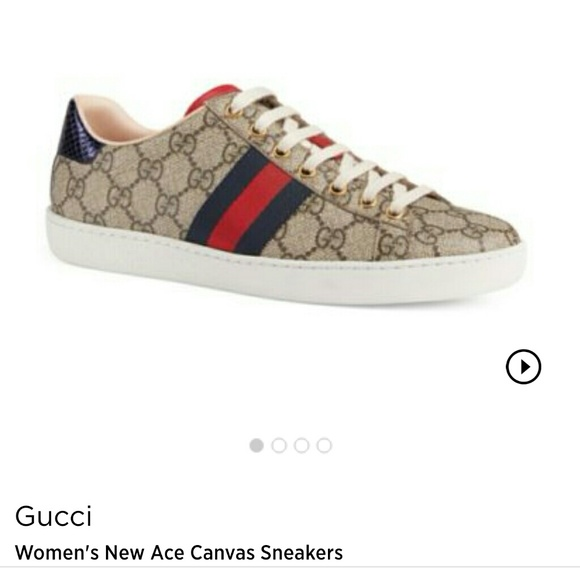 adb49fdb10a38 gucci gg ace sneakers women